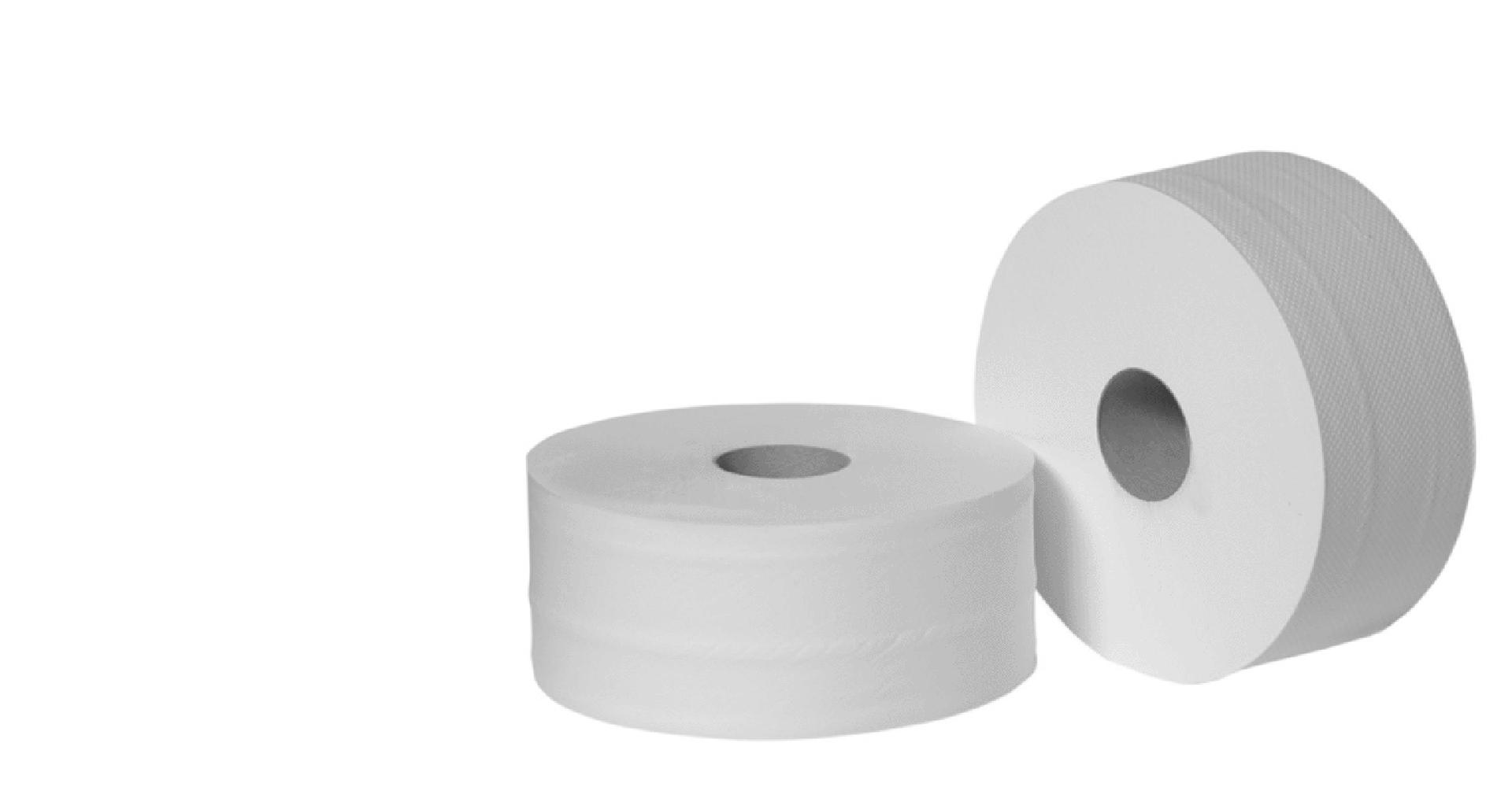 Туалетная однослойная бумага для диспенсера 100% целлюлоза