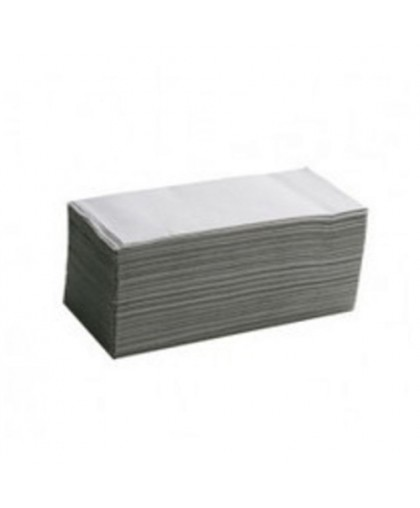 Листовые Полотенца V-сложения, 1-слойные, упаковка – гофрокороб - 250 листов в пачке.
