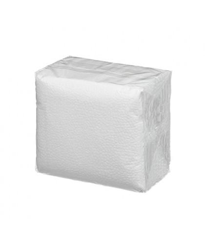 Салфетки 1-слойные 50 листов в пачке (белый 100%) (в полипропилене) - 1 упаковка