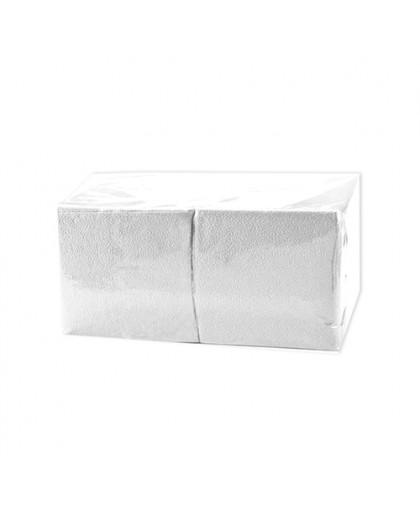 Салфетки биг пак 1-слойные 400 листов в пачке. - 1 упаковка (Белизна — 100%)