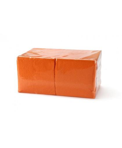Салфетки биг пак, 1-слойные (насыщенные цвета) (оранжевый), 400 листов в пачке. - 1 упаковка