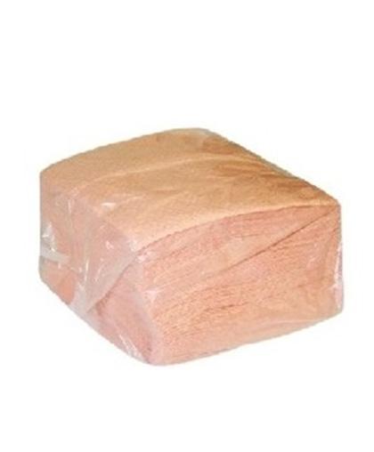 Салфетки 1-слойные 100 листов в пачке (разноцветные) (в полиэтилен) - 1 упаковка