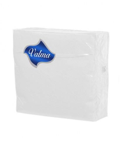 Салфетки 1-слойные 100 листов в пачке (белый) (в полипропилене) - 1 упаковка